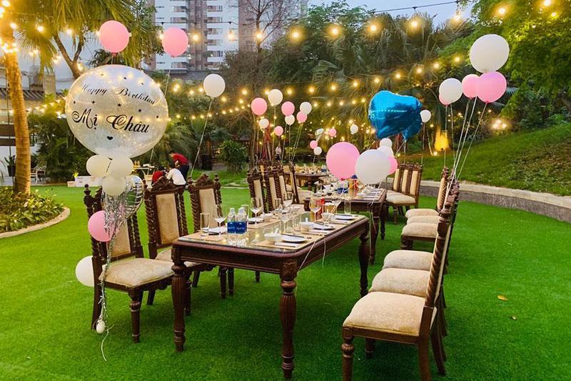 Bật mí 5 địa điểm vô cùng lý tưởng để tổ chức tiệc outside