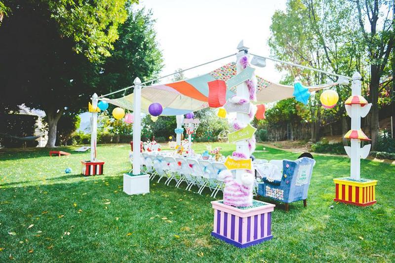 Một số lời khuyên và ý tưởng cho tiệc outside mùa hè