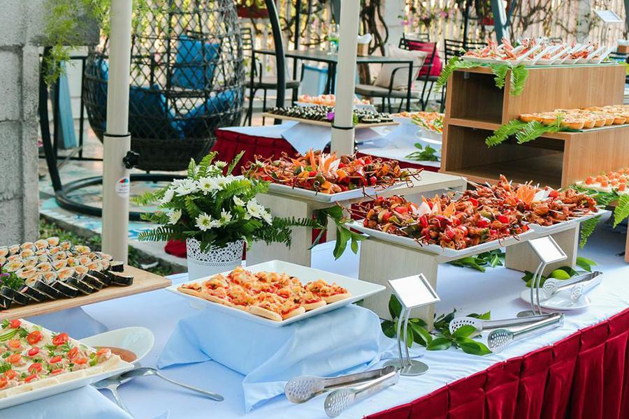 Dịch vụ đặt tiệc outside VIP Hai Thụy Catering bật mí những loại hình tiệc Outside Catering