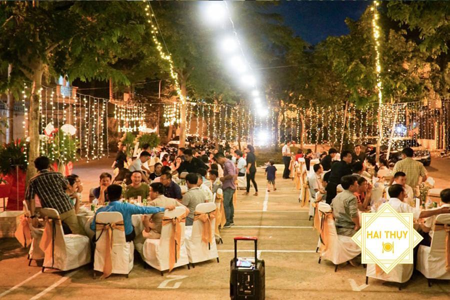Đặt tiệc outside quận 4 Hai Thụy Catering - Sở hữu tiệc ngoài trời đẳng cấp